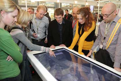 3D Touchtable Anwender